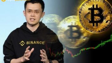 """Binance CEO'sundan, Bitcoin için """"maksimum"""" fiyat tahmini"""