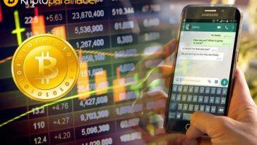 Artık WhatsApp üzerinden Bitcoin ve Litecoin alıp gönderebilirsiniz