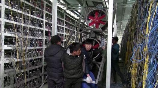 Как китайцы добывают Bitcoin