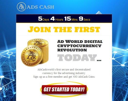Как получить монеты AdsCash бесплатно