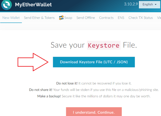 Как открыть кошелек Ethereum