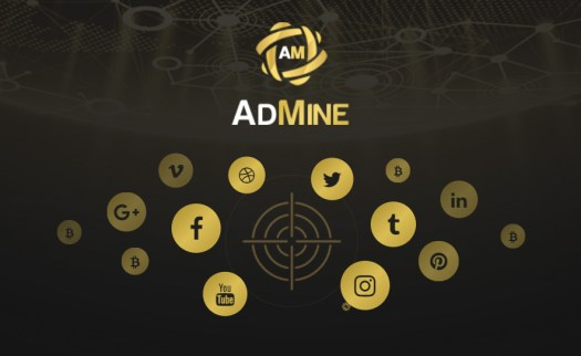 AdMine - социальная сеть брендов на основе блокчейна