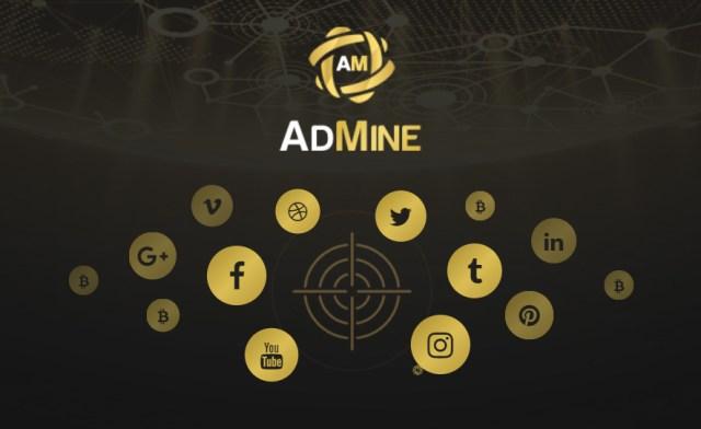 AdMine – социальная сеть брендов на основе блокчейна