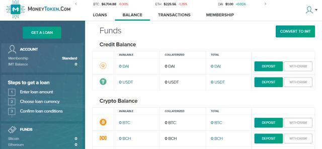 Account-moneytoken
