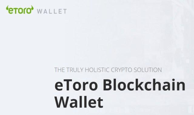 Платформа eToro представила собственный криптокошелек