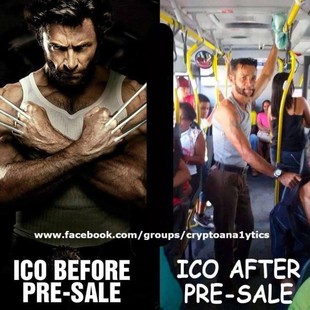 Крипто-юмор: pre-sale ICO