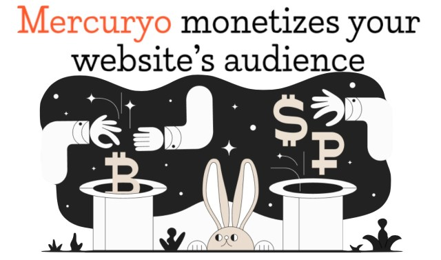 Инструмент монетизации сайтов от «Mercuryo»