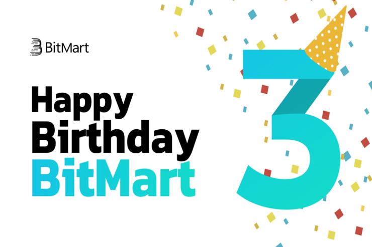 BitMart эйрдроп токенов BMX и USDT