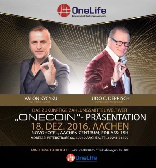 Конференція OneLife, Aachen-18-12-2016