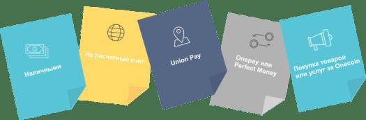 Вивід грошей з OneCoin
