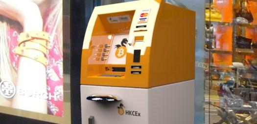 Біткоін-банкоматів вже більше тисячі