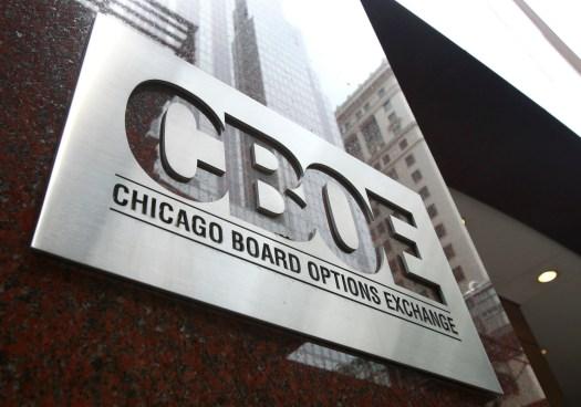 На біржі CBOE стартували торги біткоін-ф'ючерсами