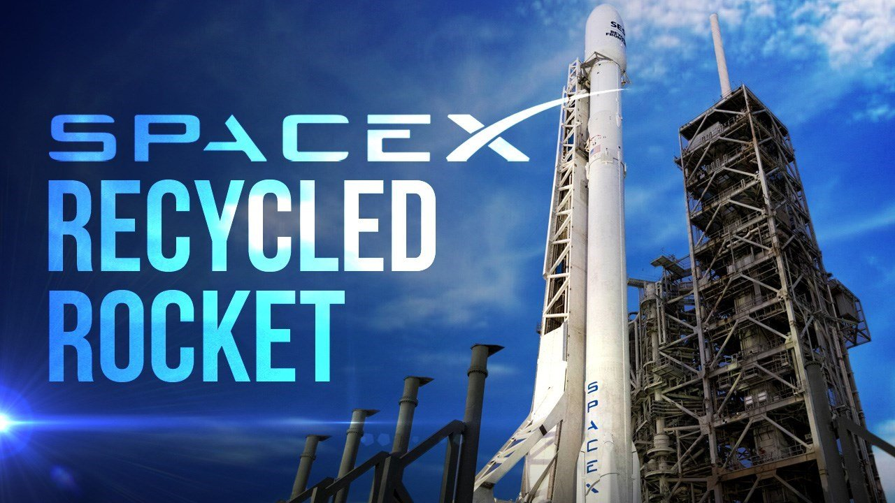Image result for spacex recycled rocket