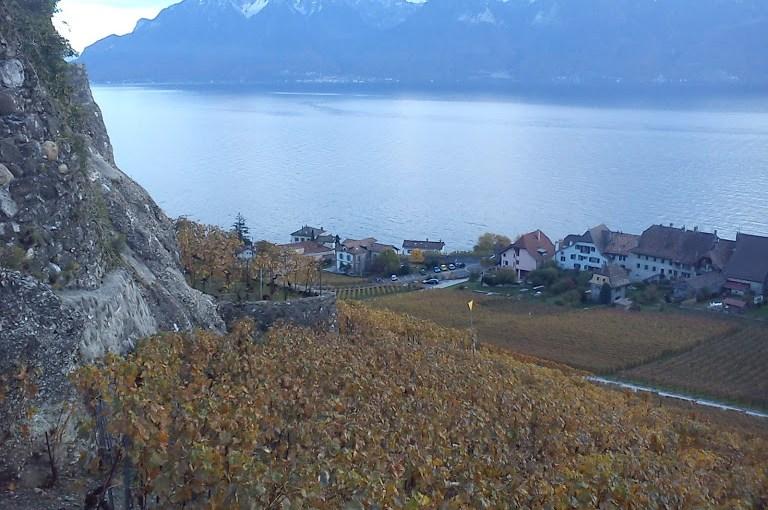 Chexbres and Geneva lake