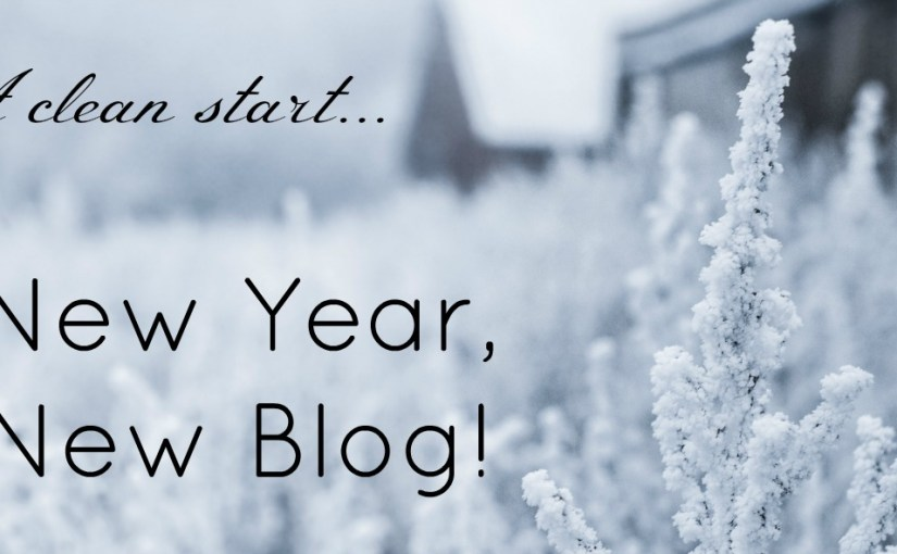 New year new blog