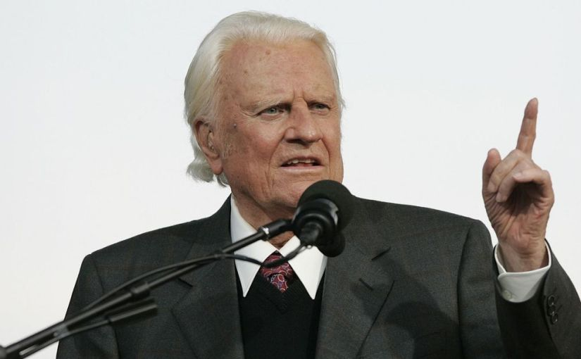 Billy Graham is dead at the age of 99