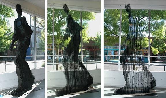 Quantum Man Sculpture