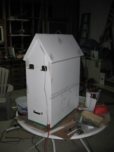 Cat House - Unfinished, Back View