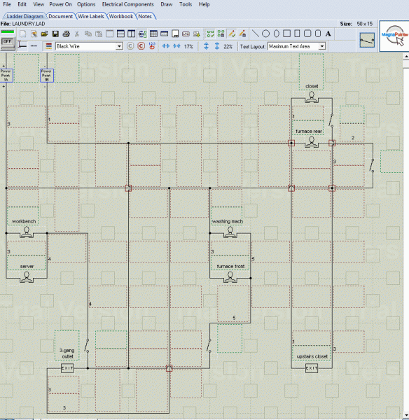 Animated GIF: THE CONSTRUCTOR PROGRAM - LAUNDRY WIRING DIAGRAM