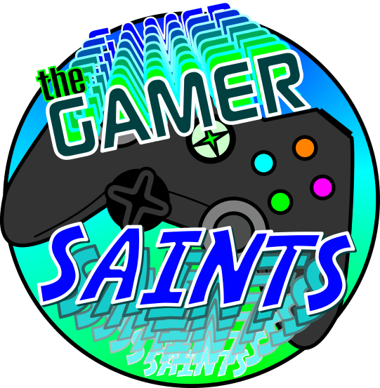 Logo created for the Gamer Saints Lego League Team - Before accidental border