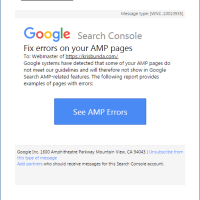 Google Search Console: Fix AMP Error in WordPress