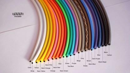 Techflex colors