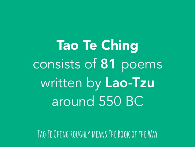 What Is The Tao Te Ching?