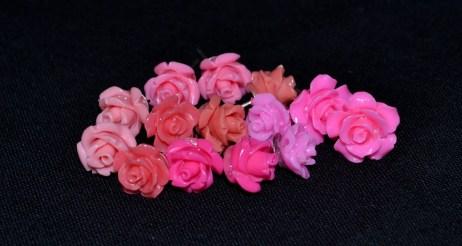 Rose Earrings 3
