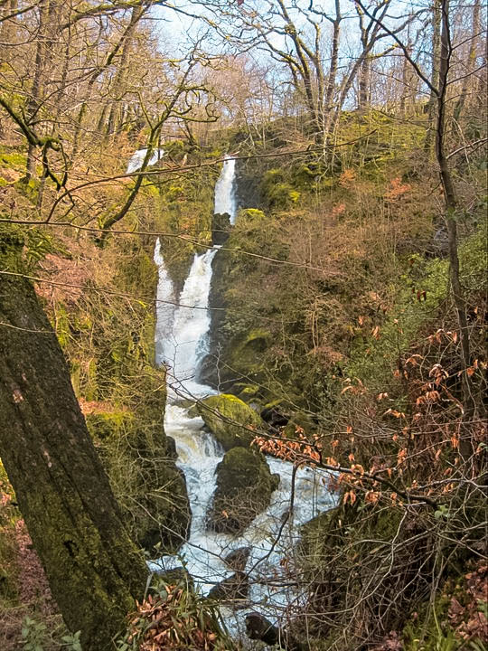 Stock Ghyll Force Falls