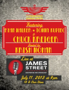 Noodlebowl Comedy Show with Ryan Walker, Tommy Kupiec & Chuck Krieger