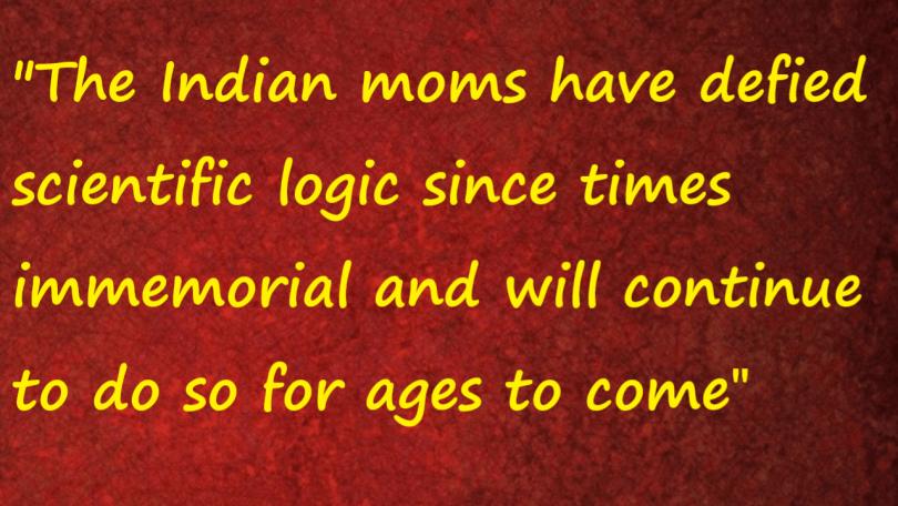 scientific logic and moms