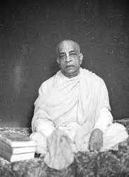 """Srila Prabhupada Speak Out: """"So do not become a madman in false conviction. Do not remain in ignorance for your problems.'"""