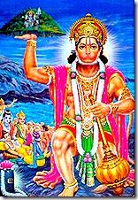 Hanuman is always in pure goodness