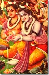 Rama and Lakshmana dedicated to dharma
