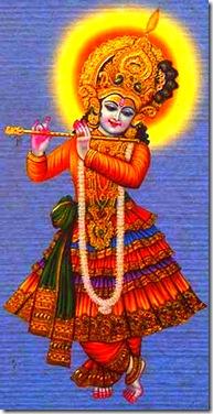 Lord Krishna is infallible