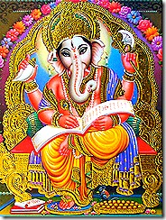 Lord Ganesha - scribe of the demigods