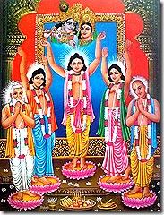 Lord Chaitanya sankirtana