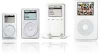 evolution of iPod