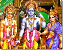 Sita, Rama, and Lakshmana