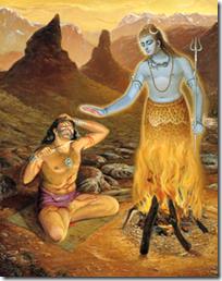Vrikasura and Lord Shiva