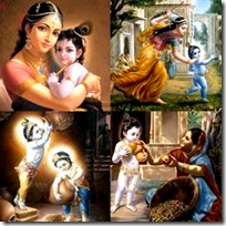 Krishna and His activities