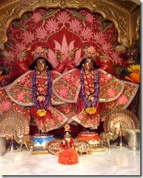 Temple altar - Shri Shri Nimai Nitai