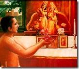 Worship of Radha Krishna