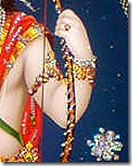 Lord Rama holding His bow