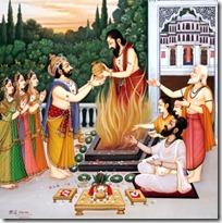 Dasharatha's sacrifice
