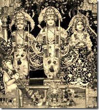 Shri Rama Darbar deities
