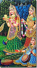 gopis of Vrindavana