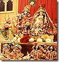 Radha Krishna altar