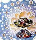 Vishnu creating the universes