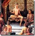Prahlada Maharaja speaking to classmates